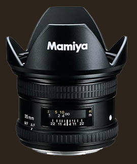 Mamiya ZD AF 35mm